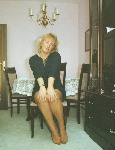 germannylonpics Mature lady show off her nyloned feet