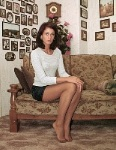 germannylonpics Young woman in pantyhose.