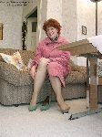 germannylonpics Mature lady in vintage pantyhose