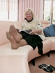 germannylonpics Mature woman in pantyhose