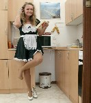 germannylonpics Kitchenwork in vintage rht pantyhose