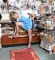 Shop assistant in tan pantyhose - 0339_0712.jpg